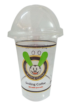 Smiling Cafe Cup
