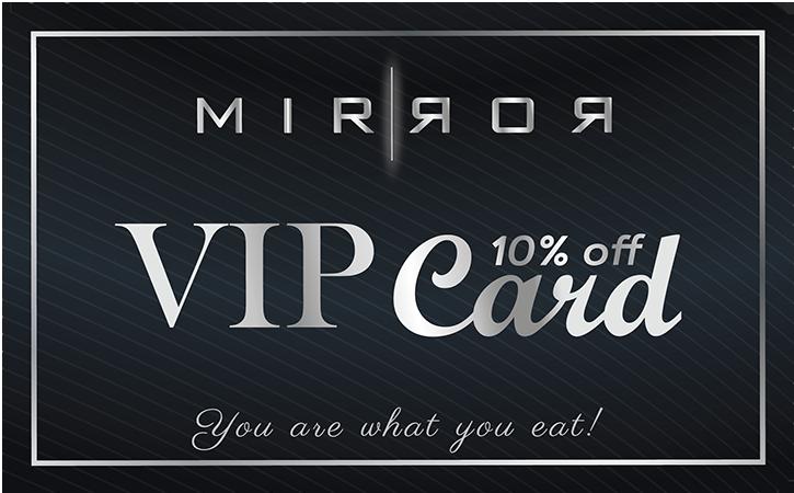 Mirror VIP Card