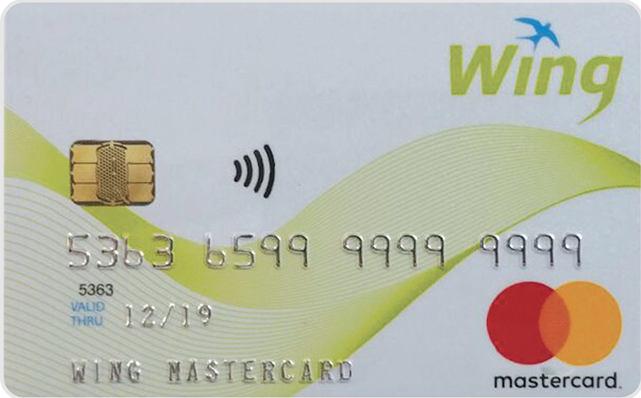 Wing Master Card